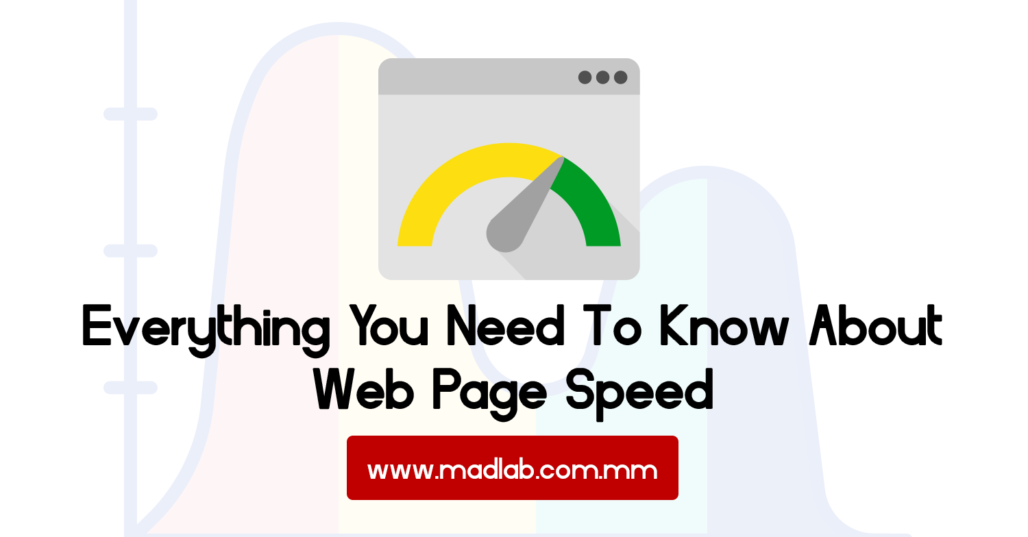 web page speed myanmar